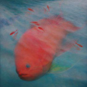 『あかおびはなだい』 2010年 S100号 (162×162cm)