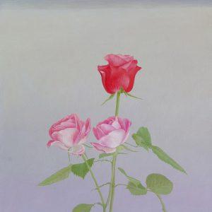 『ばらの花』  F6(41×31cm)