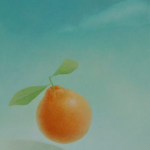 『オレンジ』 2013年 F3(27×22cm)