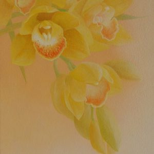 『きいろの蘭』 2013年 SM (22×15cm)