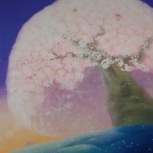 『桜』 2015年 S100号 (162×162cm)