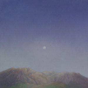 『夕刻の桜島』 F6(41×31cm)